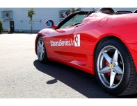 Ride in Ferrari F360 on the streets of Riga + video