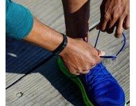 Fitbit Alta HR Wristband activity tracker OLED Bezvadu Melns, Nerūsējošs tērauds