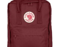Fjallraven Kánken Daypack Backpack Ox Red