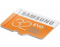 Samsung 32GB MicroSDHC EVO memory card (class 10)