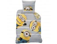 "Bed linen set Minions Team +  Minions ""Bob"" LED light"