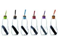 Black + Blum EAU GOOD Water Bottle - Set with 5 Charcoals Blue