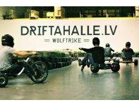 Аренда электрических дрифт трициклов на 2 персоны в Drifta Halle