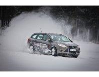 """Winter drive"" driving lesson"
