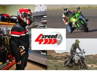 4Speed - motorcycle equipment store gift card 40 EUR