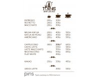 Coffee from 200 PINS