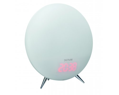 Denver Clock Radio with Wake-up Light Round (CRL-310)