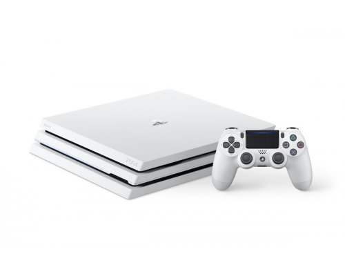 Game console SONY PlayStation Pro 4 (PS4 Pro) 1TB white