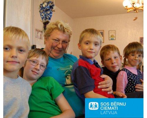 SOS Детские деревни в Латвии «Любящая семья для каждого ребенка»