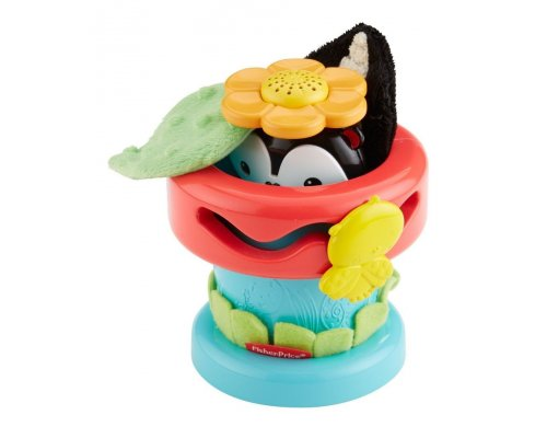 Fisher Price Attīstošā rotaļļieta Pop Up Flower Pot
