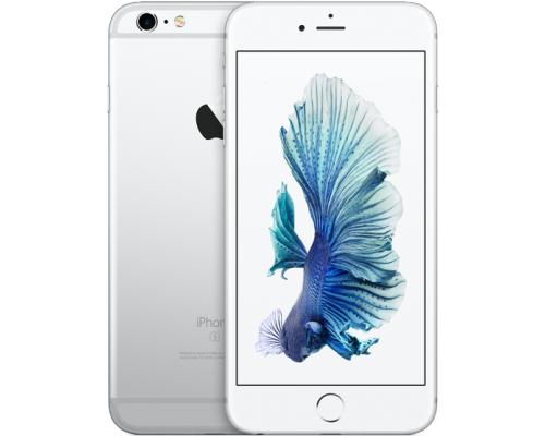 Apple iPhone 6s Plus 128GB mobilais telefons sudraba - baltā krāsā (silver-white)(MKUE2) + Dāvanā bruņota stikla aizsargplēve ekrānam