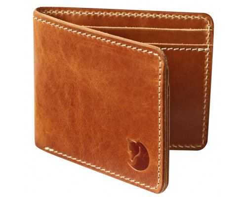 Fjällräven Övik Wallet Leather Cognac