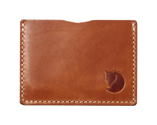 Fjällräven Övik Card Holder Leather Cognac