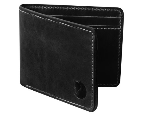 Fjällräven Övik Wallet Leather Black