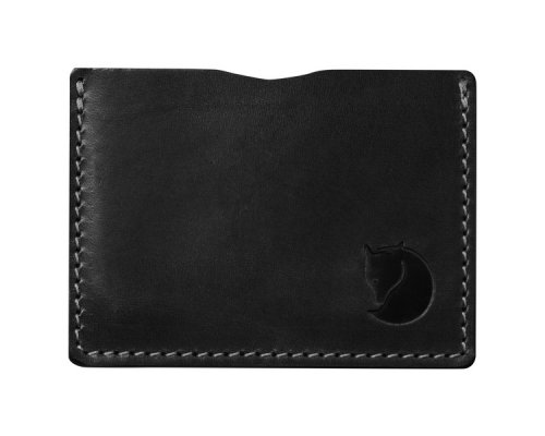 Fjällräven Övik Card Holder Leather Black