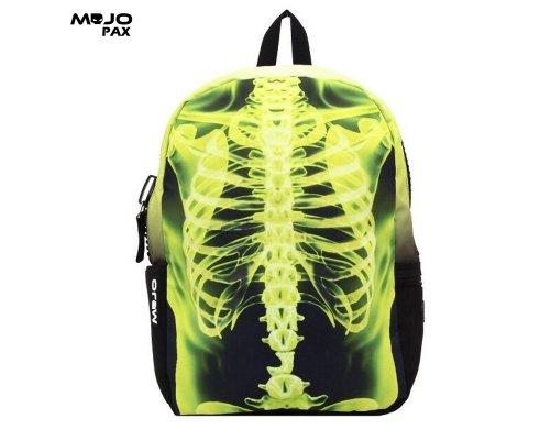 "Mojo ""Yellow X-Ray Ribs"" backpack"