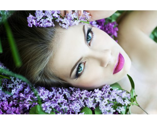 "Spring  full body massage ""Lilac Flowers"""