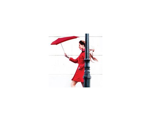 Senz Umbrella Compact Smart S Sunset Red