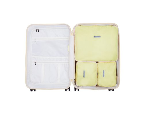 SuitSuit Packing Cube Set Medium - Mango Cream