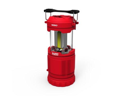 NEBO POPPY Lantern/Spotlight 300lm Red