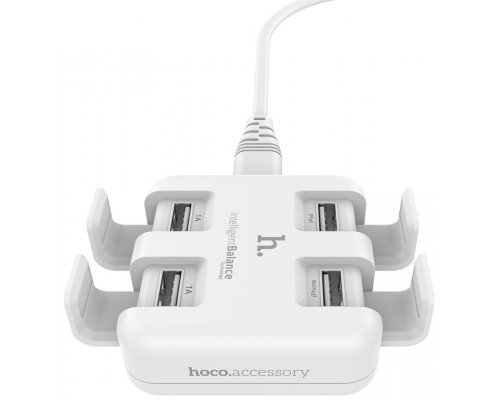 UH402 Travel Charger 4 USB white