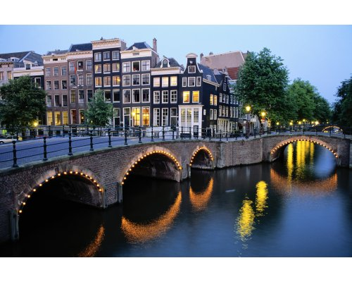 Riga - Amsterdam round trip