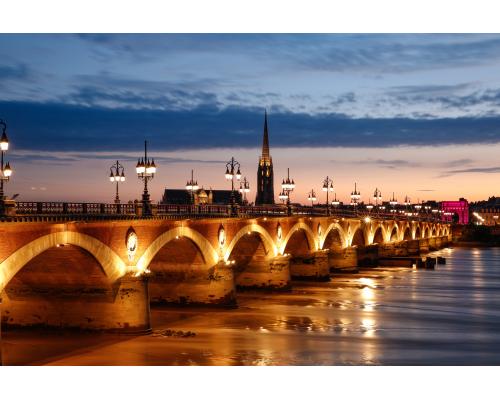Riga - Bordeaux round trip flight