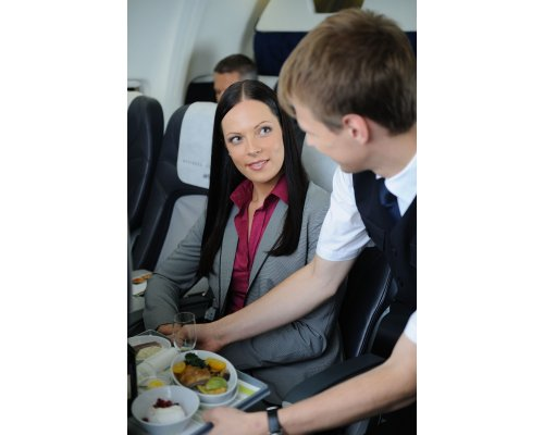 Upgrade to business class starting from 16000 PINS