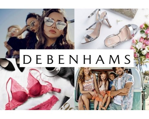 Debenhams gift card 50 Eur