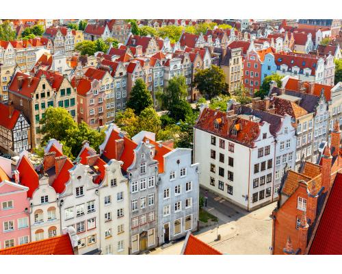 Riga - Gdansk (Lech Walesa) round trip flight
