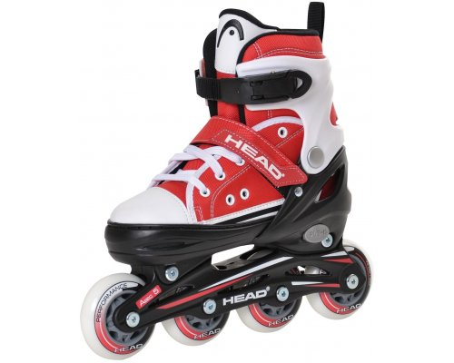 Head Jr Red Adjustable Inline Skates