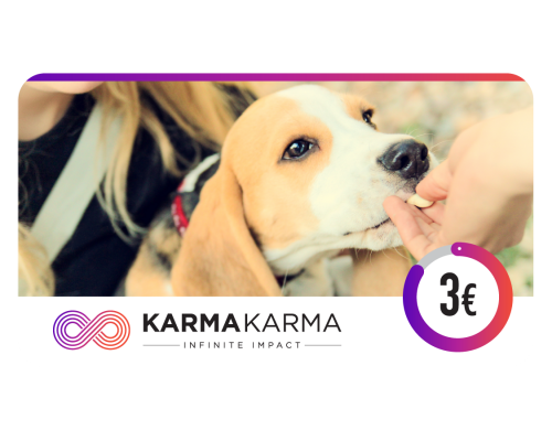 KARMAKARMA Charity eGift Card 3€