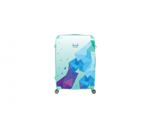 Customized L size RAIBUM travel suitcase