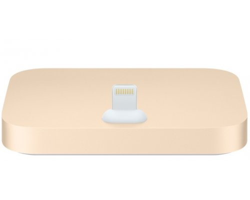 Apple iPhone Lightning Dock док станция (gold) (ML8K2)