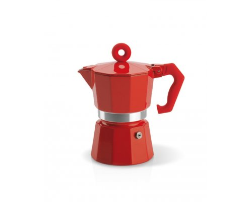 La Moka Red Pot