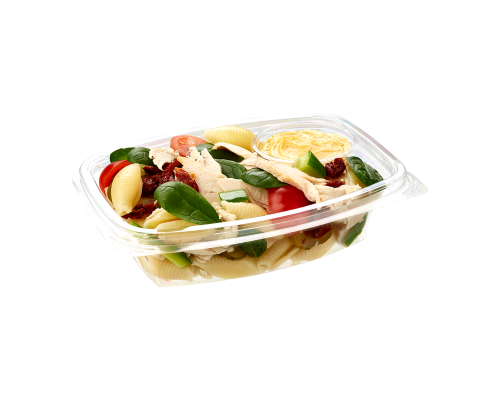 Narvesen pasta salad with chicken fillet and spinach. Price from