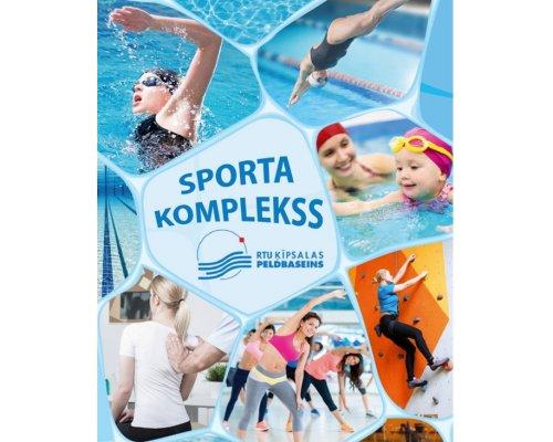 RTU Kipsalas swimming pool gift card 10 Eur