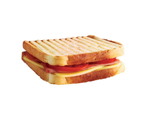 Narvesen hot Sandwich with chicken and tomato. Price from