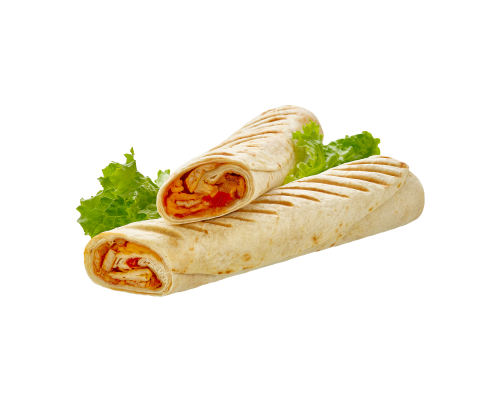 Narvesen chicken filled tortilla. Price from