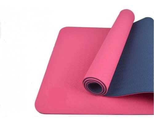 Yoga and gymnastics mat