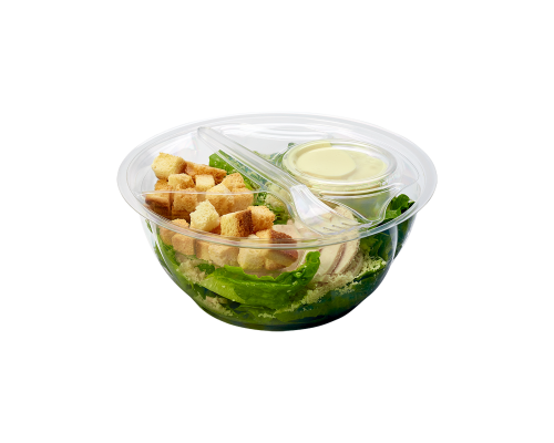 Narvesen green salad with chicken. Price from