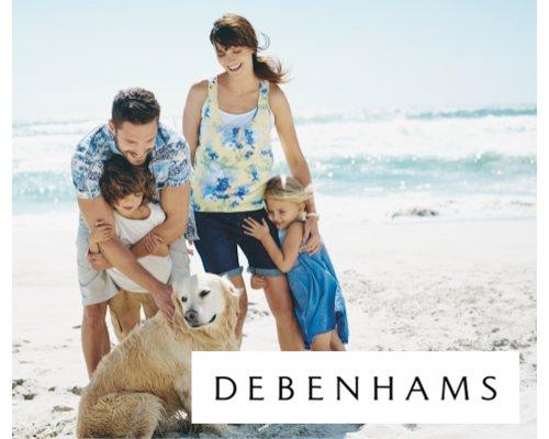 Debenhams gift card 50 Eur