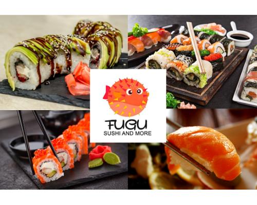Fugu Sushi - доставка суши подарочная карта 30 EUR