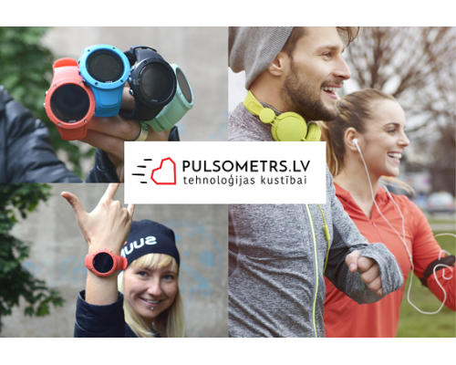 Pulsometrs.lv - sport and active lifestyle gear gift card 50 EUR
