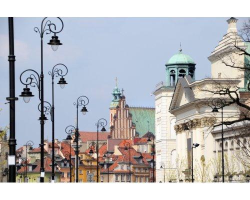 Riga - Warsaw round trip