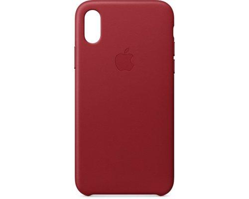 Apvalks iPhone X, ādas RED, MQTE2ZM/A