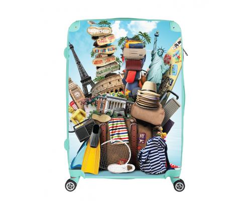 Customized L size RAIBUM travel suitcase
