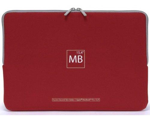"Tucano Second Skin Macbook Pro 15"" Red"