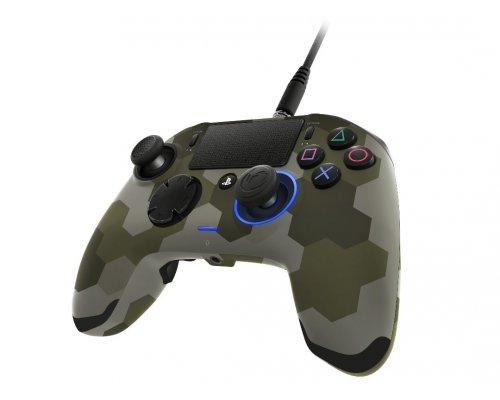 PS4 Nacon Revolution Pro Controller Wired Camo Green
