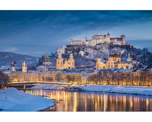 Riga - Salzburg round trip
